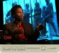 Ishmael Beah on CNN